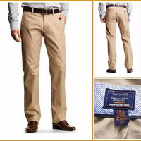 GAP Khakis Tailored Straight Fit Pants - Celana Panjang Original - Siz