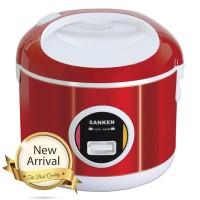 Sanken Magic Com 2L Stainless 6in1 Merah - SJ3000