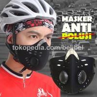 Masker Sepeda Motor SuperMask Anti Polusi Filter Standar Eropa EN 149