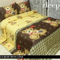 Sprei 180x200 King size Motif Bear / Teddy Bear / bernard Bear