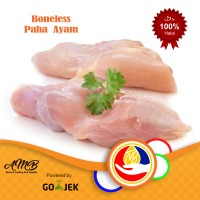 Jual Daging Paha Ayam Boneless. Siap Kirim Pake Go-Kilat Murah