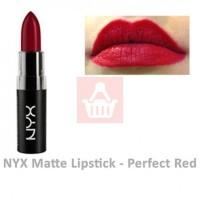 NYX Lipstick Matte - Perfect Red ORI USA