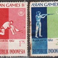 10180	INDONESIA MINT 2V 1962 ASIAN GAMES 353355