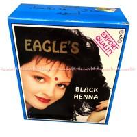 Eagle Black Henna Cat Rambut Hitam Alami Hena 6pcs