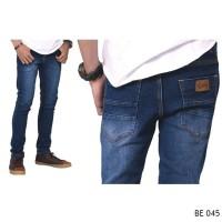 Jual Celana Jeans Skinny Cowok Celana Panjang Slimfit Biru Pria  Murah