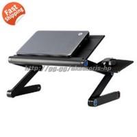 Meja Laptop Portable Lipat Aluminium Lesehan Bukan Kayu Minimalis