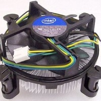 CPU Cooler & Heatsink LGA 1155 1156 - Fan Processor Pentium G i3 i5 i7