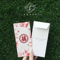 Jual Amplop angpao uang nikah / wedding envelope salem / peach Murah