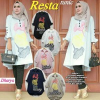 Murah Resta Tunik Blouse Atasan Katun Premium Import Bestseller XXL