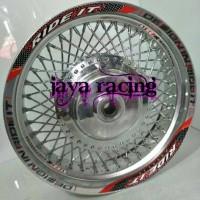 velg ring 14 tapak lebar 350 model mobil Mio j - Mio m3 - xeon dan dll