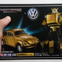 Transformer MP-21G Gold Bumblebee Masterpiece Takara Tomy Ori