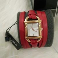 Jam tangan lilit merah EZRA by zalora