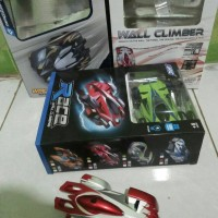 Jual RC WALL Car CLimber / Mobil Cicak / mobil rc bisa jalan di dinding Murah