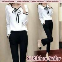 01 st rubbon sailor fit L . gd