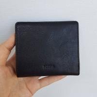 Dompet fossil sydney mini bifold black leather