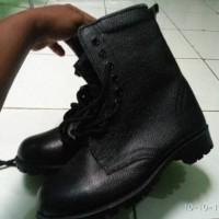 Sepatu PDL TNI kulit jeruk asli jatah