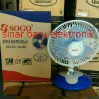 kipas angin meja /desk fan SOGO 8 inch..murah kwalitas bagus