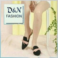 Jual Sepatu Wanita Flat Shoes Sofia Hitam Murah Murah