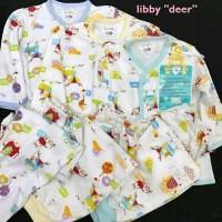 Libby Setelan Panjang SML Kecil 6-18 Bulan Pakaian Bayi Libby