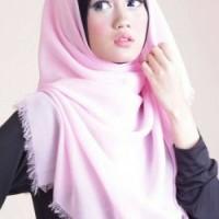 hijab kerudung jilbab segi empat rawis