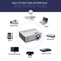 Led proyektor mini Tj600d lumens 1500 bultin tv Tj600 resdy setok
