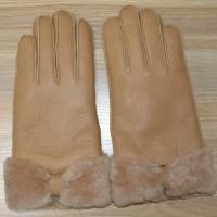Jual Sarung Tangan Winter Musim Dingin Musim Salju Kulit Domba Asli CA-01 Murah