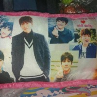 bantal foto bantal cinta photo artis korea