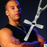 Jual Kalung Fast and Furious Vin Diesel Dominic Toreto Cross Necklace Salib Murah