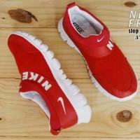 Sepatu Wanita Nike Free Slop Red List White Terlaris