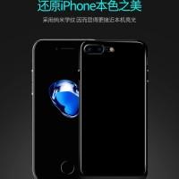 SOFTCASE THIN JET BLACK IPHONE 7 CASING IPHONE 7 PLUS CASE IPHONE 7