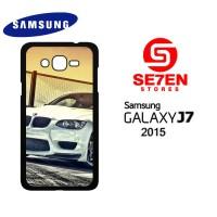 Casing HP Samsung J7 2015 White BMW M3 Custom Hardcase