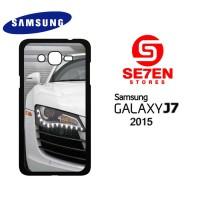 Casing HP Samsung J7 2015 White Audi r8 2 Custom Hardcase