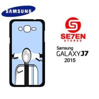 Casing HP Samsung J7 2015 Vespa white Custom Hardcase