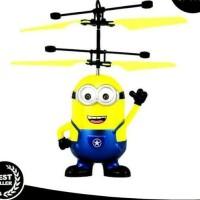 DRONE KARAKTER MINION SENSOR HELIKOPTER / MAINAN TERBANG