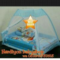 Jual kasur bayi doraemon tenda kelambu/baju bayi/ayunan/gendongan/selimut Murah