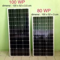 harga Solar Panel 80wp Monocrystalline Tokopedia.com