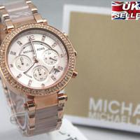 KUALITAS TERBAIK jam tangan wanita merk MICHAEL KORS DIAMOND ORI BM ty