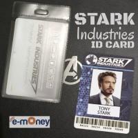 ID Card Tony Stark Mandiri eMoney Stark Industries Custom Iron Man