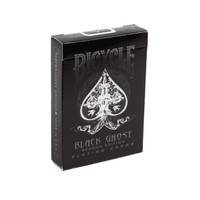 Kartu Remi Import Bicycle Ghost Black Ellusionist (Playing Cards)