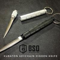 Kubaton Tactical Keychain Hidden Knife Self Defense Aluminium
