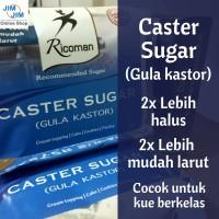 Ricoman Caster Sugar / gula kastor 1Kg