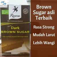 Ricoman Dark Brown Sugar 500g