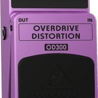 BEHRINGER OVERDRIVE DISTORTION OD100 GUITAR EFFECT PEDAL