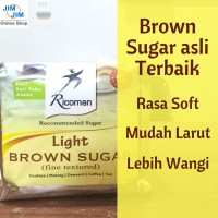Ricoman Light Brown Sugar 1Kg