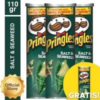 [Buy 3 Get 1] Pringles Salt & Seaweed 110gr(As4-PE11009-888646710006)
