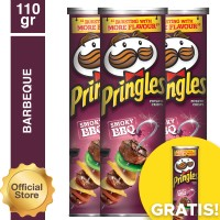 [Buy 3 Get 1] Pringles Barbeque 110gr (As4-PE11012-8886467100048)