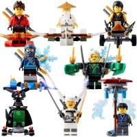 brick lego kw ninja go ninjago set 8 thunder swordman kombinasi