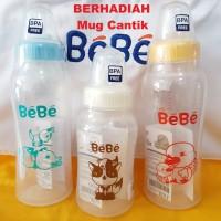 Botol Susu Bayi 'bebe' 250 Ml Pp Economy (bpa Free)