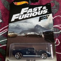 Hot Wheels HW Fast And Furious Fast Five Ford GT 40 216 US Card