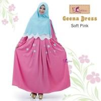 Gamis Geena Dress by Emma Queen soft wollycrepe best seller